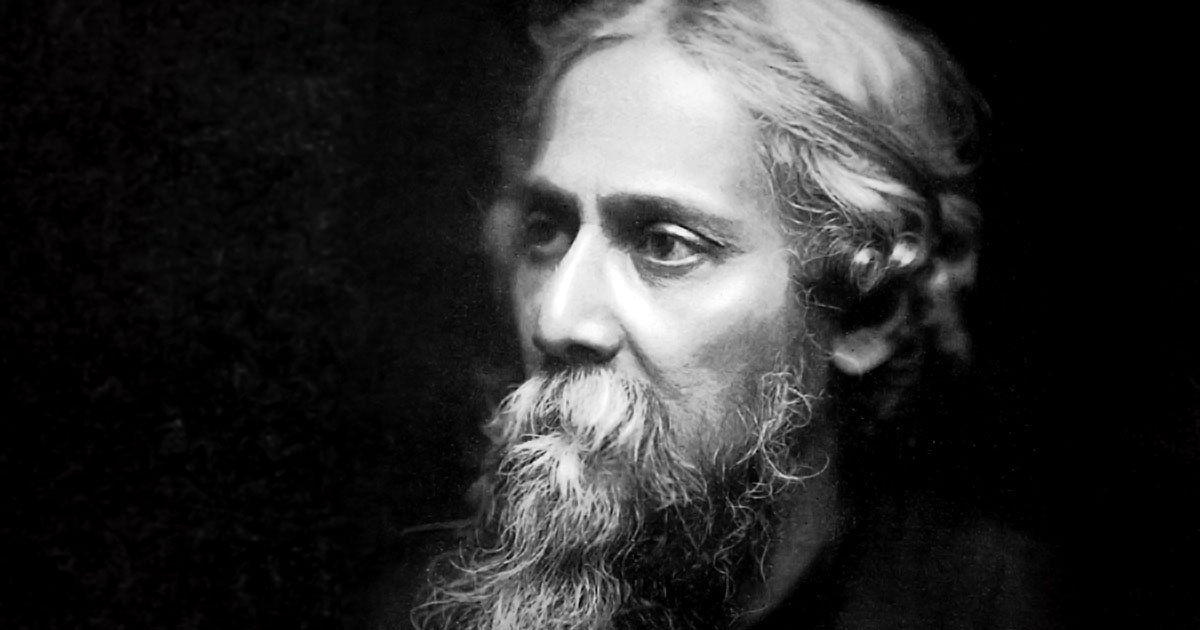 a biography of rabindranath tagore Rabindranath tagore was born on 7 may 1861 to debendranath tagore and sarada devi, the youngest of thirteen surviving children at the age of seventeen, he was sent to london for higher education, however, he did not finish his studies there.